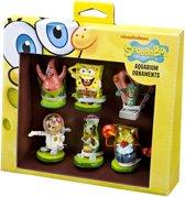 Spongebob Aquarium - Ornamenten Cadeauset - 6 ST