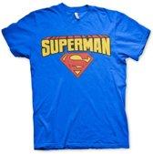 Superman T-shirt heren S