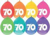Ballonnen - 70 jaar -  per 8