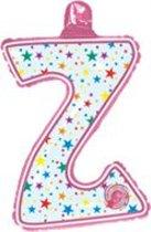 opblaasbare letter Z multi color