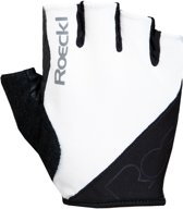 Roeckl Bologna Handschoenen, white/black Handschoenmaat 7