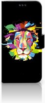 Samsung Galaxy S9 Plus Uniek Boekhoesje Lion Color