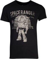 Toy Story - Buzz Lightyear Vintage Men's T-shirt - L