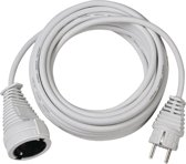 Brennenstuhl Quality Cable 5m Wit electriciteitssnoer