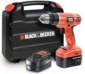 BLACK+DECKER - EPC12CA - Accu schroef-/boormachine in koffer