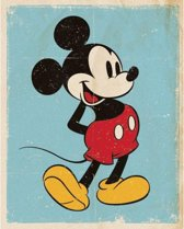 Poster Mickey Mouse retro 40 x 50 cm - filmposter