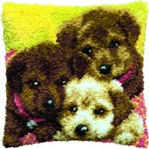 knoopkussen 013.324 drie puppies