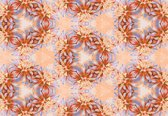 Fotobehang Abstract Pattern   XXXL - 416cm x 254cm   130g/m2 Vlies