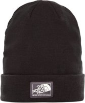 The North Face Dock Worker Beanie Muts - Unisex - TNF Black/weathered Black