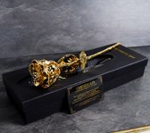 United Entertainment - Gouden Roos - in Zwartfluwelen doos