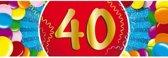 40 jaar sticker