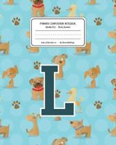 Primary Composition Notebook Grades K-2 Story Journal L