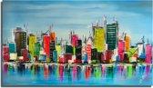 Schilderij Skyline 4