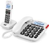 Thomson Serea Comby - Single DECT telefoon en vaste telefoon - Antwoordapparaat - Wit