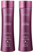ALTERNA CAVIAR ANTI-AGING INFINITE COLOR HOLD SHAMPOO + CONDITIONER 250ML GIFT SET