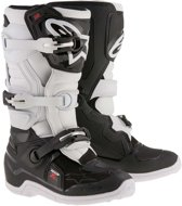 Alpinestars Kinder Crosslaarzen Tech 7S Black/White-42 (EU)
