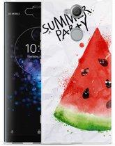 Sony Xperia XA2 Plus Hoesje Watermeloen Party