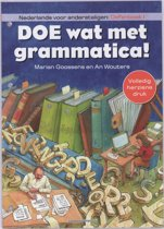 Boek cover Doe wat met grammatica! Oefenboek 1 van Marian Goossens