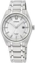 Citizen Super Titanium - Horloge - Titanium - 42 mm - Zilverkleurig - Solar uurwerk