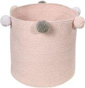 Lorena Canals - Toy Bag Bebé Bubbly Pink - 30x30x30 cm