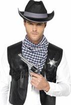Instant Western Wild West Kit met hoed |maat M/L