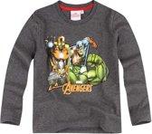 Avengers-Assemble-T-shirt-met-lange-mouw-grijs-maat-152