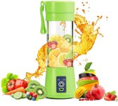 Draagbare Smoothie Blender - Portable Blender - Groen - Smoothie