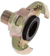 Gietijzer DN 8.5 DIN 3498 compressor klauwkoppeling - CL42-8-M-IN-038