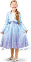 Disney FROZEN II Elsa kleedje - verkleedkleedje. 5/6 jaar.