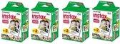 Fujifilm 4 Pack Instax film mini 20 stuks