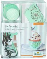 Birkmann Cupcake Decoset Mint - 7 cm - 48 delig