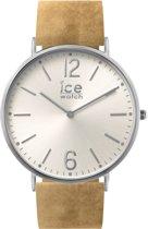 Ice-Watch IW001372 Horloge - Leer - Bruin - Ø 41mm