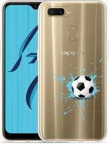 Oppo AX7 Hoesje Soccer Ball