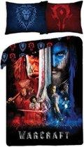 Warcraft Two Worlds - Dekbedovertrek - Eenpersoons - 140 x 200 cm - Multi