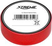 isolatie tape - rood - 15mm - 10 Meter