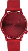 Komono Winston Regal All Red horloge KOM-W2267