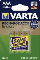 Varta Oplaadbare AAA batterij 550 mAh - 8 stuks