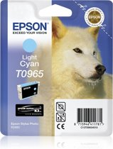 Epson T0965 - Inktcartridge / Licht Cyaan