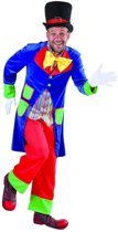 Clown & Nar Kostuum | Gangmaker Circus Clown Man | Large | Carnaval kostuum | Verkleedkleding