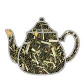 Green lemon sencha thee, groene thee, 100 gram losse thee