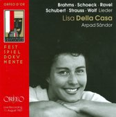 Della Casa/Sandor - Lieder