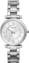 Fossil Zilverkleurig Vrouwen Horloge ES4341