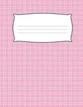 Kids Cute Pink Primary Journal Composition Notebook