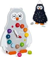 Janod Houten speelklok Owly Clock