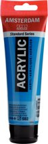 Amsterdam Standard acrylverf tube 120ml - Mangaanblauw phthalo - halftransparant