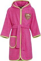 Badjas Playshoes Hart-pink-122/128