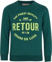 Retour Jeans Jongens Trui - Teal green - Maat 158/164