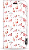 Casetastic Wallet Case White Samsung Galaxy A5 (2017) - Flamingo Party