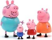 Peppa Pig Familie | Complete Gezin | 4 stuks
