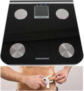 ProHealth Lichaamsanalyseweegschaal - Zwart - Personenweegschaal - Gewicht - Weegschalen - Weegschaal Personenweegschaal - Vetmeting - Vochtmeting - Lichaamsanalyse